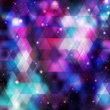 Galaxy background. Colorful vector illustration Royalty Free Stock Images