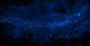 Galaxy background. An illustration of cosmic dust forming a nebula or a galaxy Royalty Free Stock Photography