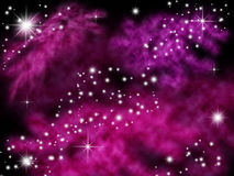 Galaxy background. Galaxy planet in black starry background Royalty Free Stock Photo