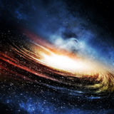 The Galaxy Background Royalty Free Stock Images