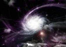 galaxy bezpłatna przestrzeń Obrazy Royalty Free