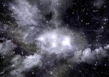 galaxy bezpłatna przestrzeń Fotografia Stock