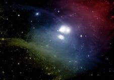 galaxy bezpłatna przestrzeń Zdjęcie Royalty Free
