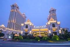 Galaxy Casino in Macau, China Stock Images
