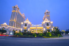 Galaxy Casino in Macau, China Stock Photography
