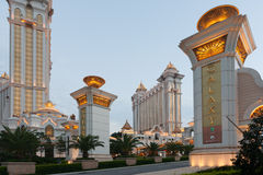 Galaxy Casino in Macau Stock Photo
