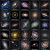 Galaxy Collection Royalty Free Stock Photography