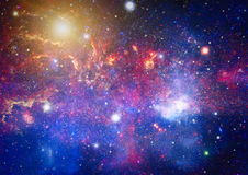 Galaxy - Elements of this Image Furnished by NASA Royalty Free Stock Image