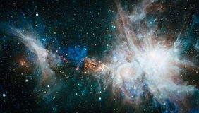Galaxy - Elements of this Image Furnished by NASA Stock Photo