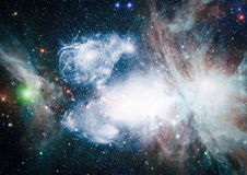 Galaxy - Elements of this Image Furnished by NASA Royalty Free Stock Images