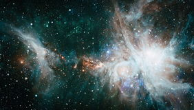 Galaxy - Elements of this Image Furnished by NASA Royalty Free Stock Photos