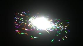 Galaxy explosion stock illustration