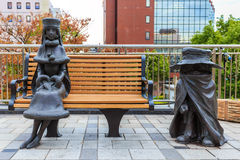 Galaxy Express 999 Sculptures Stock Photography