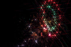 Galaxy Fireworks Royalty Free Stock Photo
