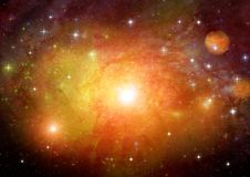 Galaxy in a free space Royalty Free Stock Photography