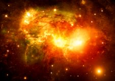 Galaxy in a free space Royalty Free Stock Photos