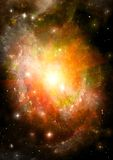 Galaxy in a free space Royalty Free Stock Photo