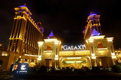 Galaxy Macau Stock Image