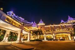 Galaxy Macau Casino. Macau, China - December 8, 2016: night view of Galaxy Macau Resort Hotel Casino in Cotai Strip. Macau is the gambling capital of Asia and is royalty free stock images