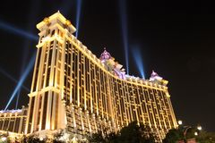Galaxy Macau is entertainment complex Stock Photos