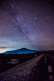 Galaxy, Milky Way at Asia royalty free stock images