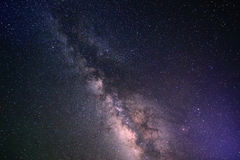 Galaxy milky way background Stock Images