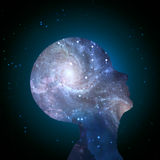 Galaxy Mind Stock Images