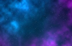 Free Galaxy. Night Starry Sky, Infinite Space Universe With Stars, Galaxies. Nebulae And Bright Stains Starlight Astronomy Stock Photo - 169068770