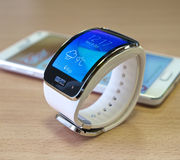 Galaxy note et gear s Royalty Free Stock Photo