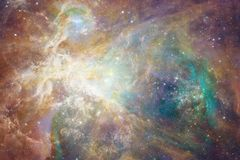 Galaxy in outer space, beauty of universe. Elements of this image furnished by NASA.  royalty free stock image
