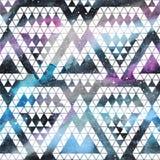 Galaxy seamless pattern. Stock Photography