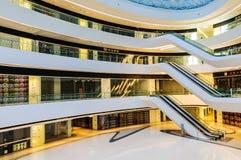 Galaxy SOHO Building indoor scene in Beijing, China Stock Photography