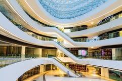 Galaxy SOHO Building indoor scene in Beijing, China Royalty Free Stock Image