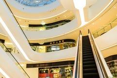 Galaxy SOHO Building indoor scene in Beijing, China Royalty Free Stock Photo