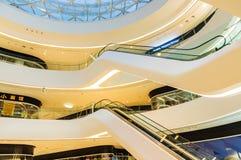 Galaxy SOHO Building indoor scene in Beijing, China Stock Photo