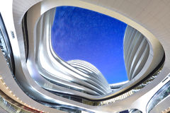 Galaxy SOHO night, Beijing, China Royalty Free Stock Image