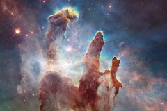 Galaxy somewhere in deep space. Beauty of universe. Elements of this image furnished by NASA royalty free stock photo