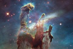 Galaxy somewhere in outer space. Elements of this image furnished by NASA. Beautiful galaxy somewhere in outer space. Elements of this image furnished by NASA stock photo