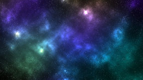 Galaxy space nebula background. Galaxy space with star field nebula background Royalty Free Stock Photo