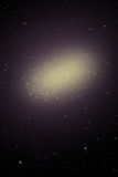 Galaxy Space star sky, Incredibly beautiful spiral galaxy Stock Image