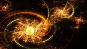 galaxy spiral Далекий космос Переплетает магнитное поле бесплатная иллюстрация