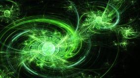 galaxy spiral 远的空间 扭转磁场 库存照片
