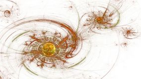 galaxy spiral 远的空间 扭转磁场 免版税库存照片