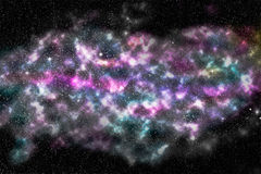Galaxy, star nebula Stock Photography