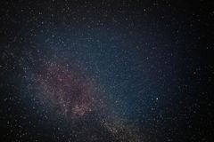 Galaxy stars night sky. Galaxy stars in night sky. Space astrophotography Stock Photos