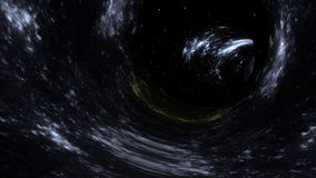 Galaxy tunnel stock footage