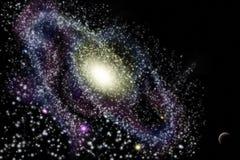 galaxy wszechświat royalty ilustracja