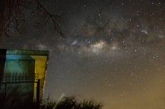 Galaxys et manière laiteuse Images libres de droits