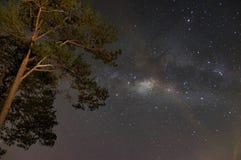 Galaxys et manière laiteuse Photo libre de droits