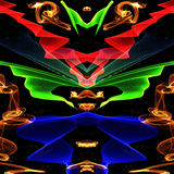 Galazy. Abstract colorful outer space  background Stock Photography